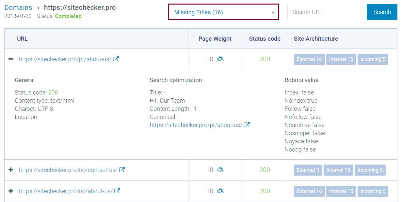 SEO проверка сайта на ошибки в поисковых системах