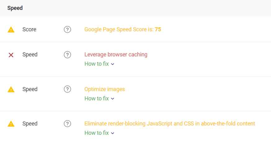 Website Speed Test: How to Speed Up Your Website Guide (Tool