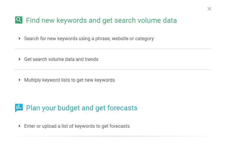 How to use Google Keyword Planner properly?