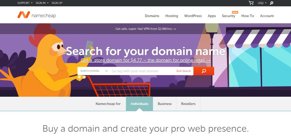 如何注册域名及网站