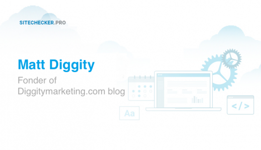 Interview with SEO specialist and blogger Matt Diggity