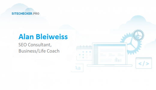 Interview with SEO Consultant, Business/Life Coach Alan Bleiweiss