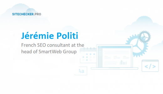 Interview with French SEO Consultant Jérémie Politi
