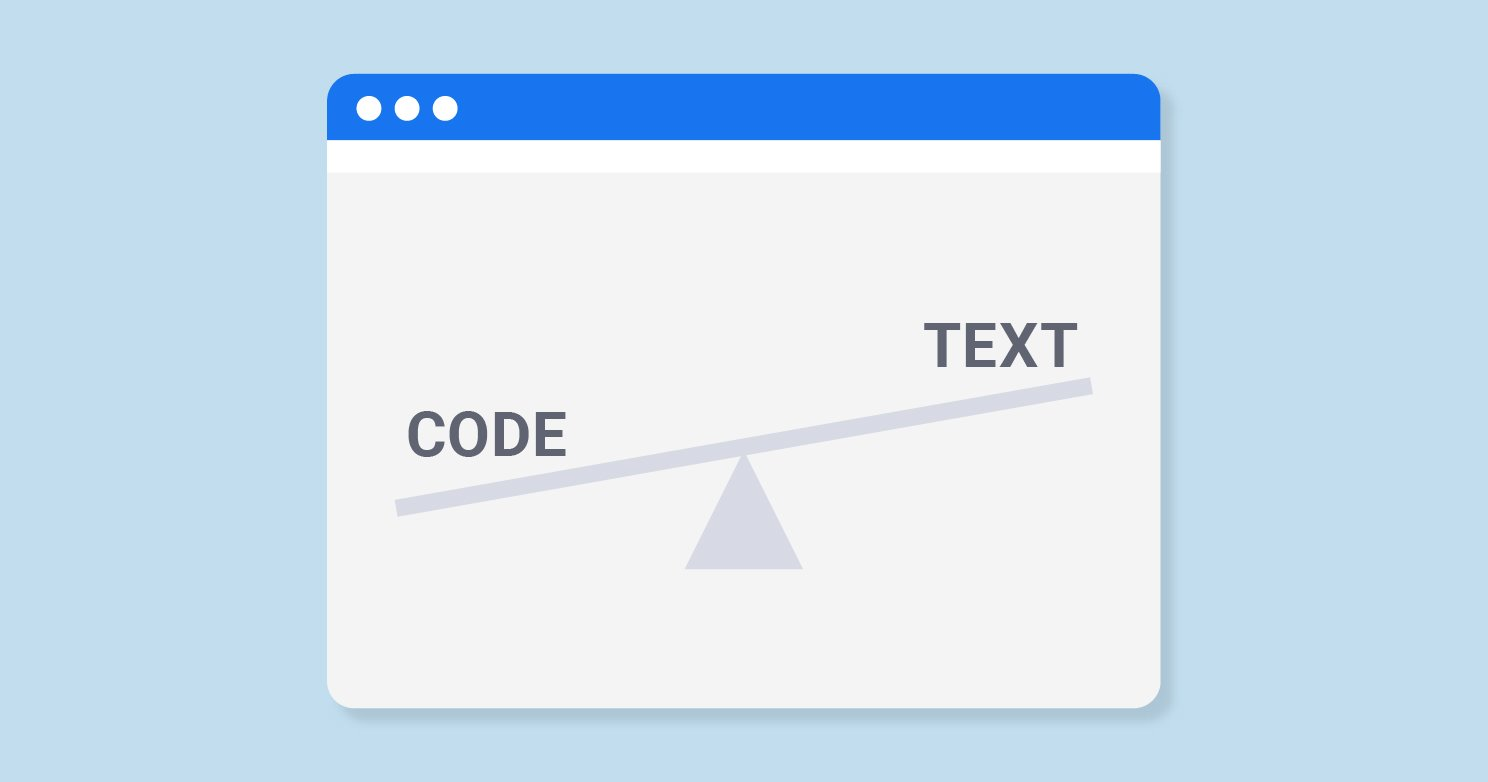 How to Use Text to Code Ratio Checker