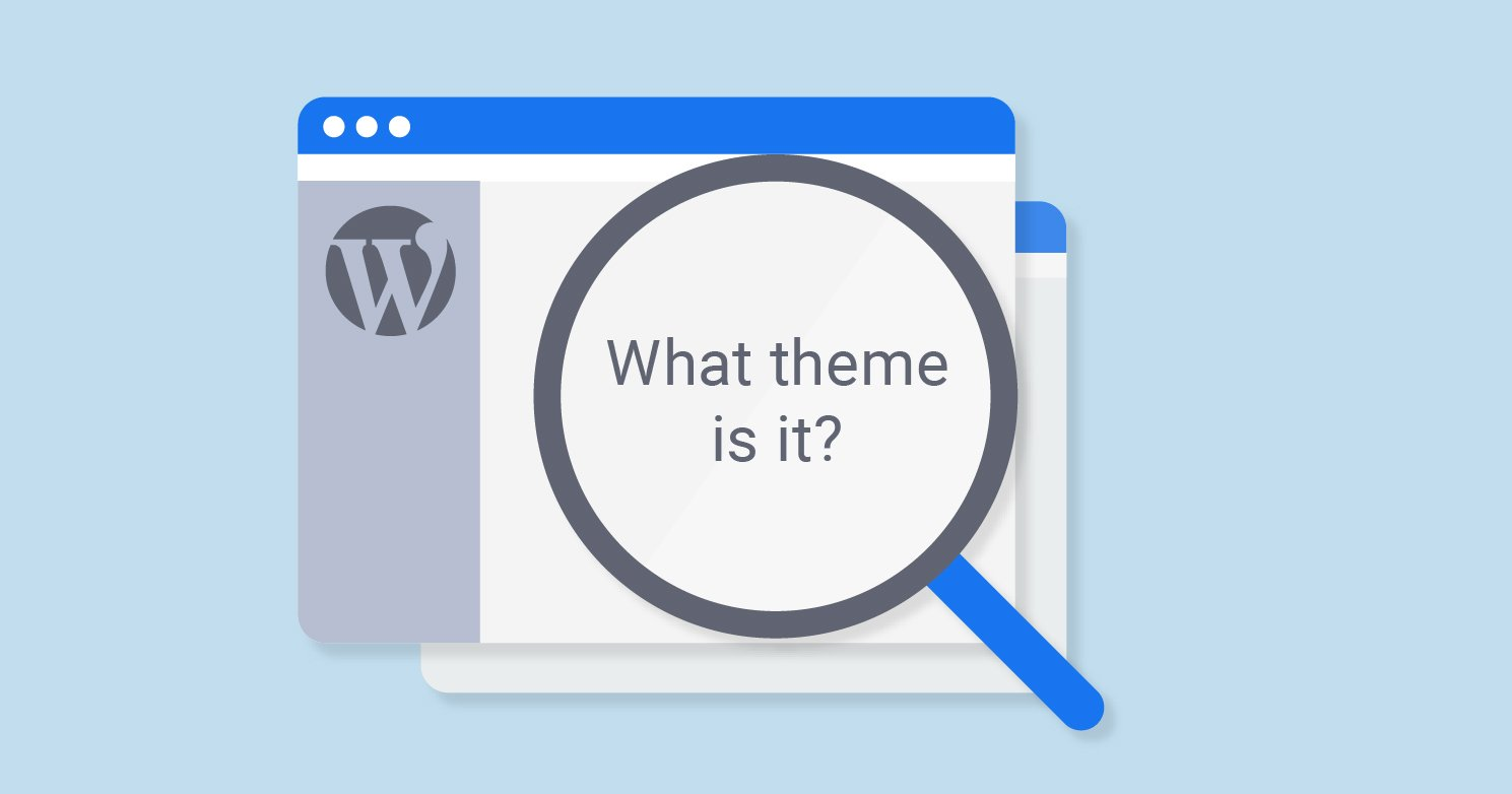 How to find what WorPress theme is this website using