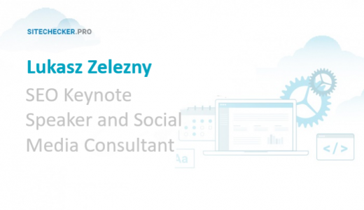 Interview with Lukasz Zelezny, SEO and Social Media Keynote Speaker
