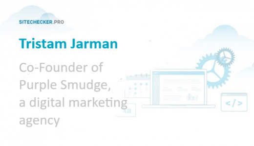 SEO tips from Tristam Jarman, Co-Founder at Purple Smudge