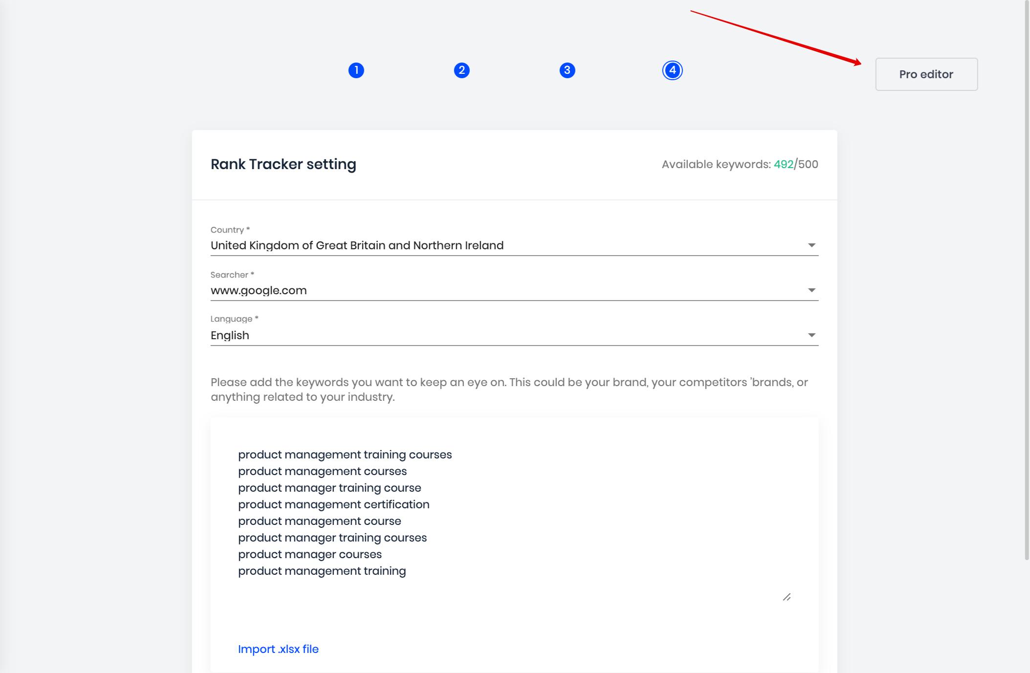 project pro editor