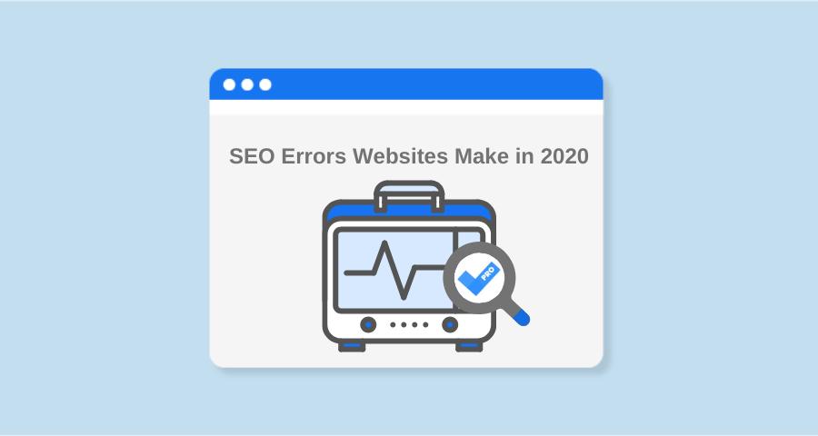 Recherche Sitechecker: les sites Web d'erreurs de référencement les plus courants en 2021