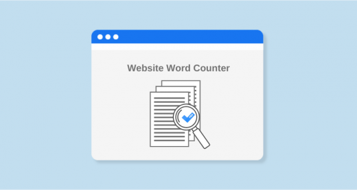 What is website word count checker tool
