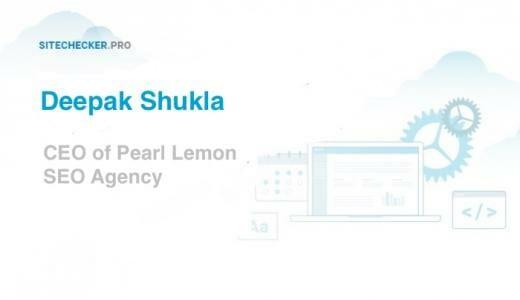Expert SEO Tips from Deepak Shukla