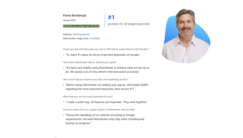 sitechecker customer stories