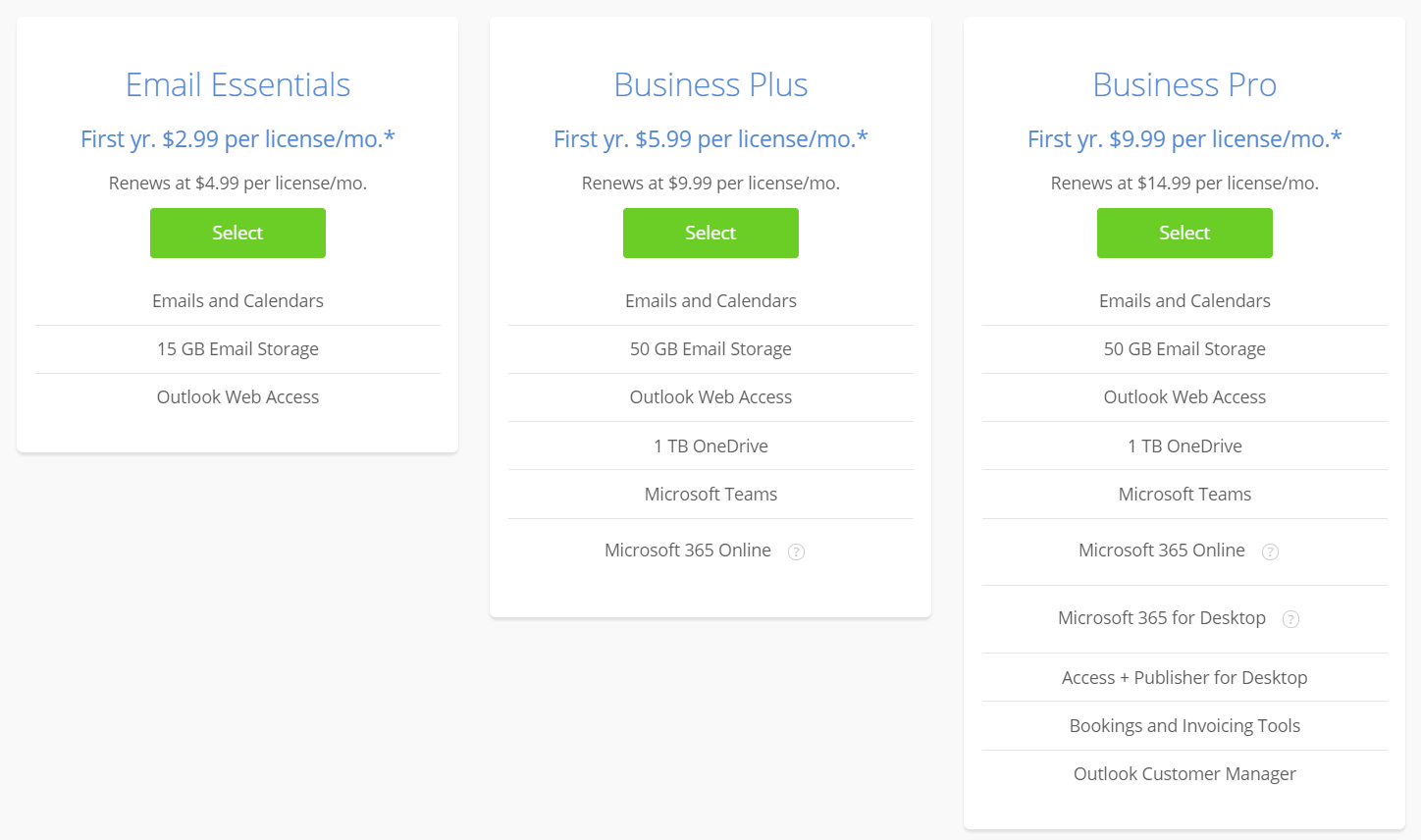 Best Email hosting - Bluehost