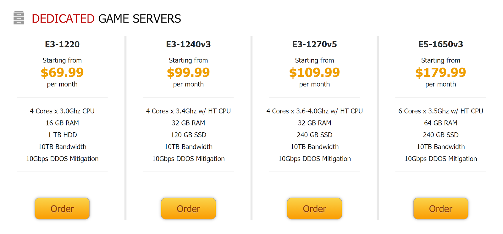 The Best Dedicated Game Server Hosting - GameServers