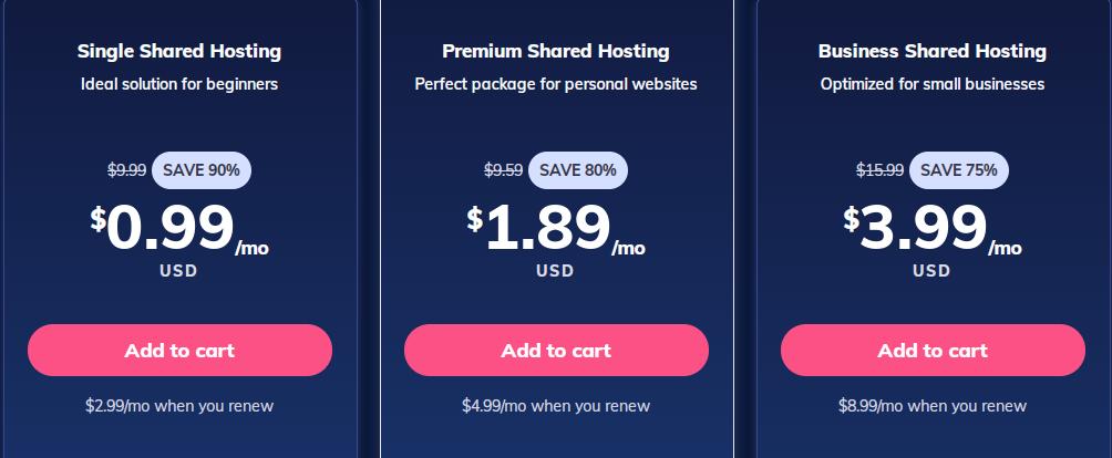 Best hosting for small business - Hostinger