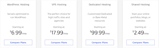 Best hosting for small business - InMotion