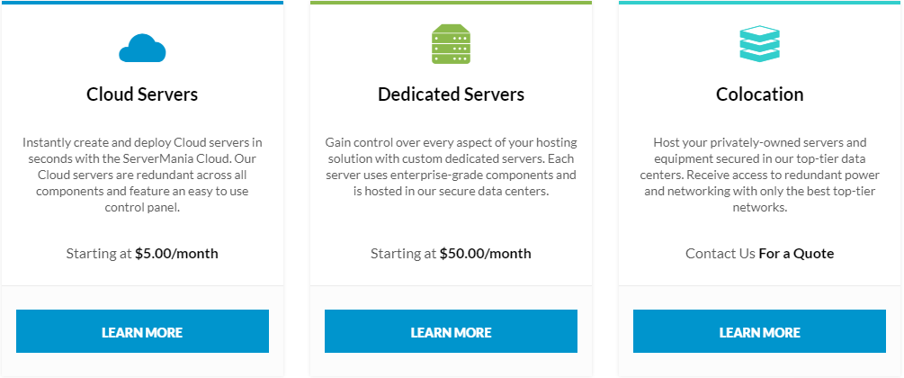 Best hosting for small business - Servermania