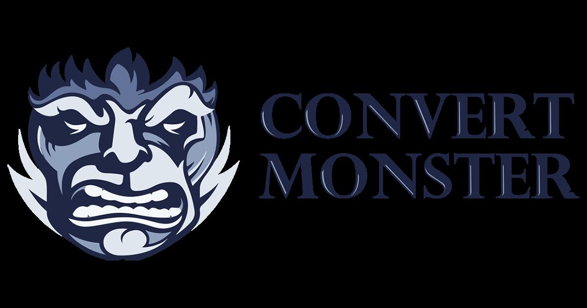 Convert monster logo