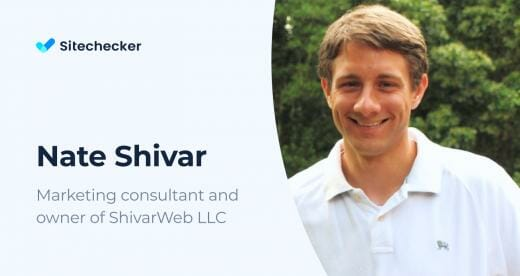 Tips from Nate Shivar, SEO&Digital Marketing Specialist