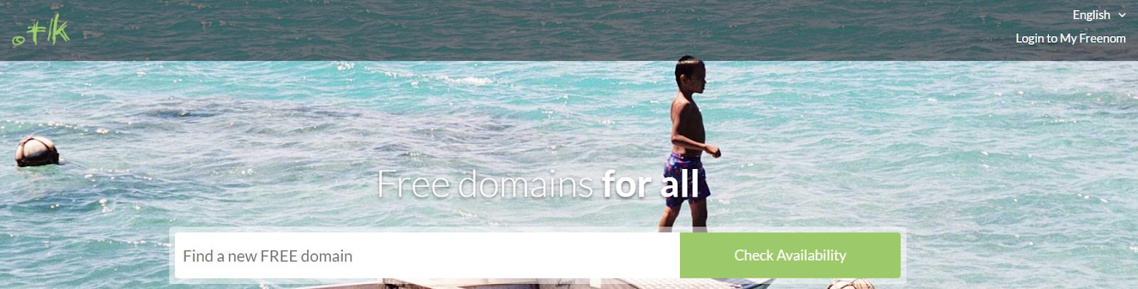 Use a Free Domain Name Registrar