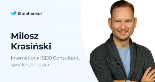 SEO and Link Building' Tips by Milosz Krasiński